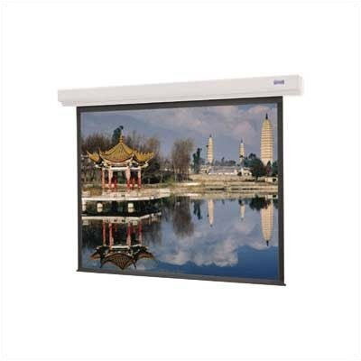 Da-Lite 92666W Designer Contour Electrol Motorized Screen - 50 x 67&quot;, 120V, 60Hz