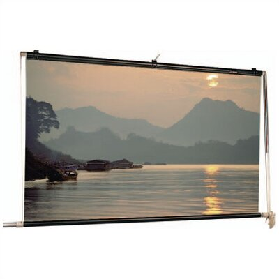 "Da-Lite Matte White Scenic Roller Manual Screen - 22'6"" x 30'"