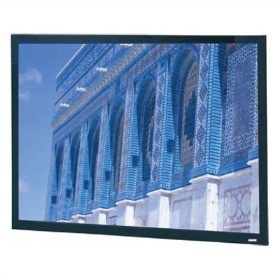 "Da-Lite Da-Tex Rear Projection Da-Snap Fixed Frame Screen - 45"" x 80"" HDTV Format"