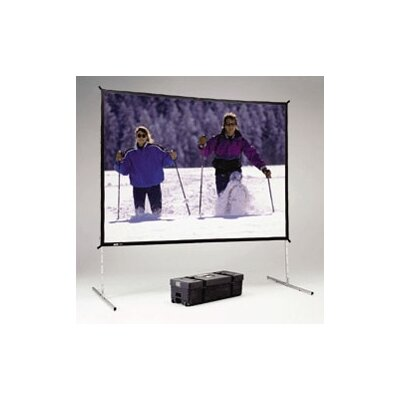 "Da-Lite Da-Mat Deluxe Fast Fold Complete Front Projection Screen - 92"" x 92"""