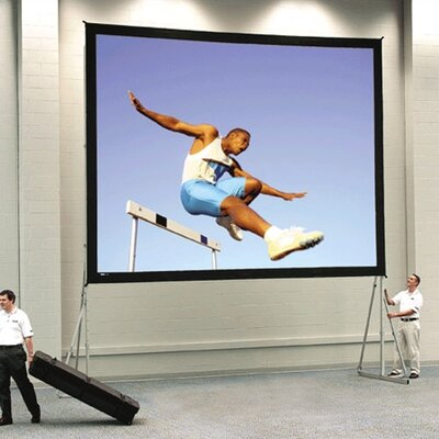 Da-Lite 35462 Fast-Fold Deluxe Projection Screen - 11 x 19'