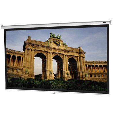 "Da-Lite Model B HC High Power Projection Screen - 57.5"" x 92"" 16:10 Wide Format"