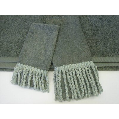 Sherry Kline Curly Bullion Decorative 3 Piece Towel Set