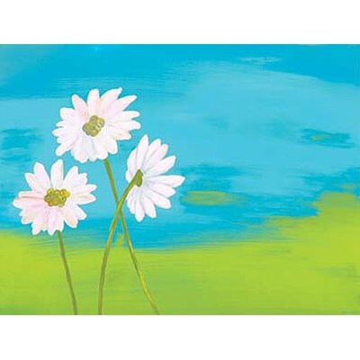 Art 4 Kids Skyline Daisies Wall Art