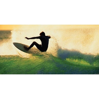 Sundown Surf Wall Art