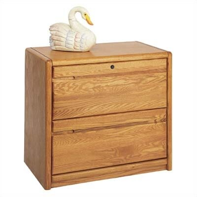 Martin Home Furnishings Contemporary Lateral 2 Drawer File