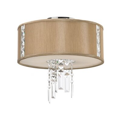 Dainolite 2 Light Semi-Flush Mount