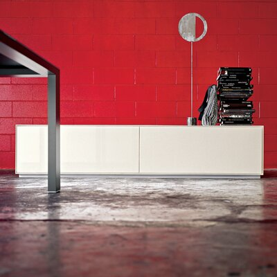 Kristalia All Lacquered Storage Unit without Feet with 2 Big Drawers