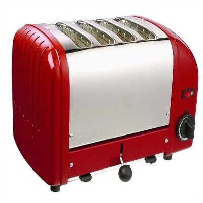 Dualit 4 Slice Toaster (red)