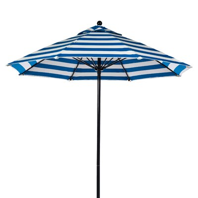Frankford Umbrellas 11' Fiberglass Striped Market Umbrella