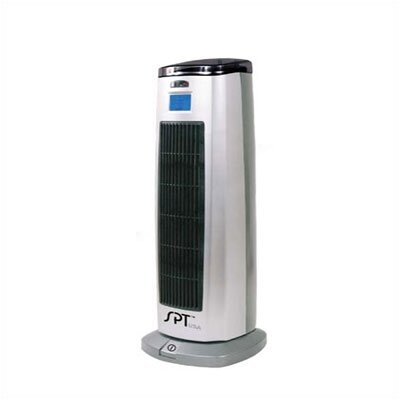 SPT 1,500 Watt Ceramic Tower Space Heater with Lonizer