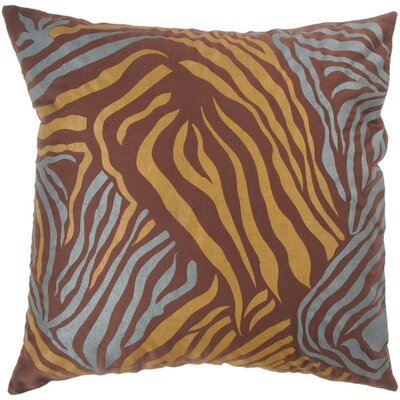 "Rizzy Home T-2843 18"" Decorative Pillow in Brown"