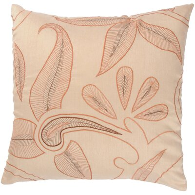 "Rizzy Home T-2908 18"" Decorative Pillow in Beige"