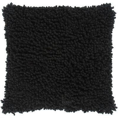 "Rizzy Home T-3632 18"" Decorative Pillow in Black"