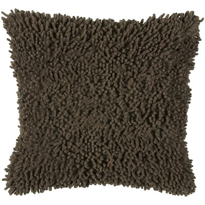 "Rizzy Home T-3635 18"" Decorative Pillow in Mocha"