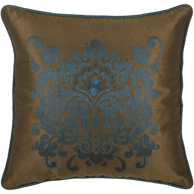 "Rizzy Home T-3894 18"" Decorative Pillow in Brown"