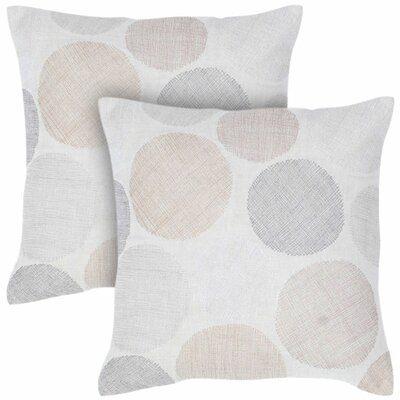 Rizzy Home Beige Cotton Decorative Pillow