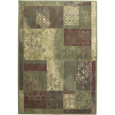 Rizzy Home Sorrento Green Rug