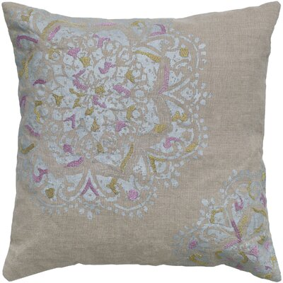 Rizzy Home Flower Pillow