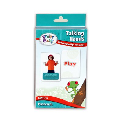 The Brainy Baby Talking Hands Flashcards