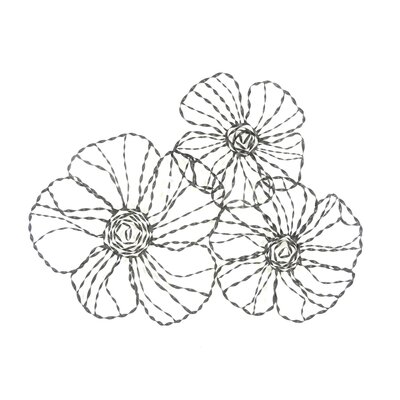 Moe's Home Collection Metal Daisy Wall Decor