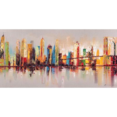 Raw City At Large Canvas Wall Art