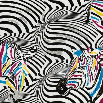 Moe's Home Collection Zebra Canvas Wall Art