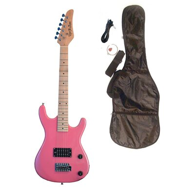 BGuitars Pink Junior 3/4 Scale Electric Guitar