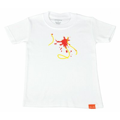 Uh-Oh Industries The Messy Line - Sauce Toss Top Shirt in White