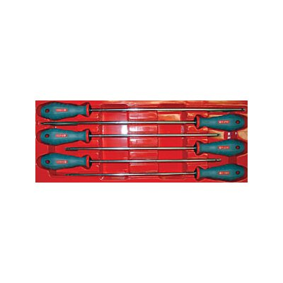 Cal Van Tools Extra Long Torx Sd Screwdriver Set