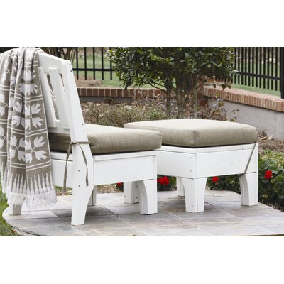 Westport Deep Seating Chair with Leg Rest