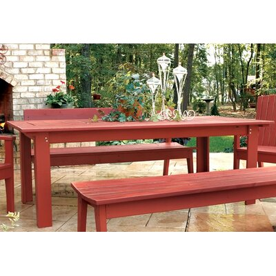 Uwharrie Chair Rectangle Behrens Dining Table