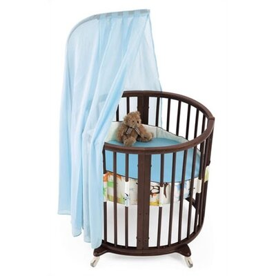 Stokke Sleepi Mini Bassinet Bedding Collection in Green Tales