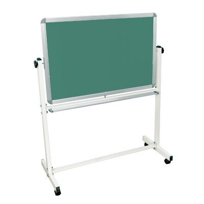 "Luxor Mobile Magnetic Whiteboard 36"" x 24"""