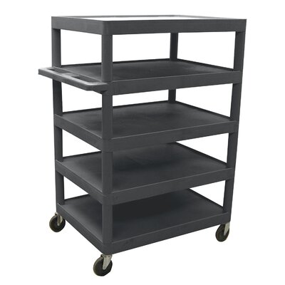 "Luxor 48"" 5 Shelf Banquet Cart"