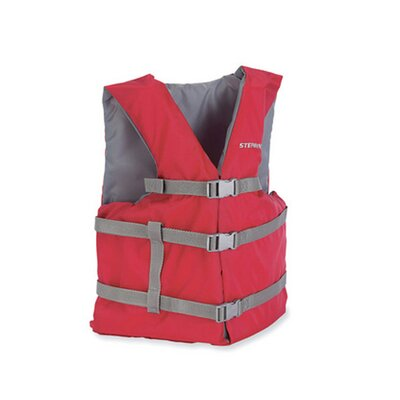 Stearns PFD 2001 Universal Gen Adult Life Vest in Red