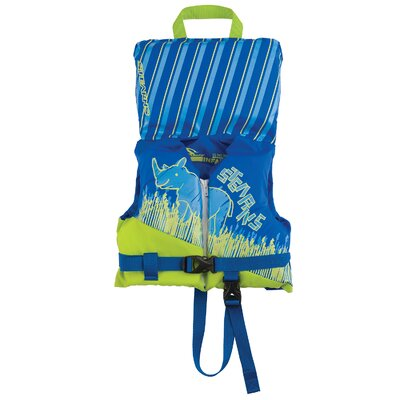 PFD 5971 Infant Antimicrobial Boy Life Jacket in Blue and Green