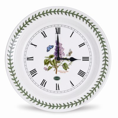 Botanic Garden Kitchen Wall Clock