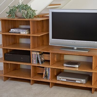 Legare Furniture Sustainable Series Multimedia Storage Rack