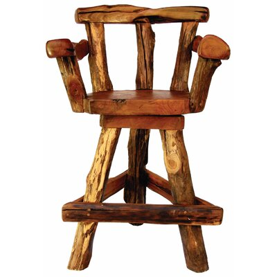 Groovystuff Sawtooth Swivel Bar Chair