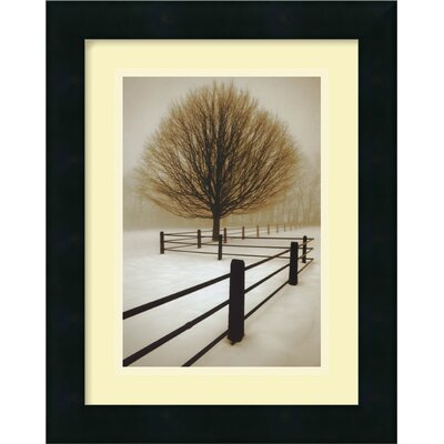 "Amanti Art Solitude by David Lorenz Winston, Framed Print Art - 15.38"" x 12.19"""