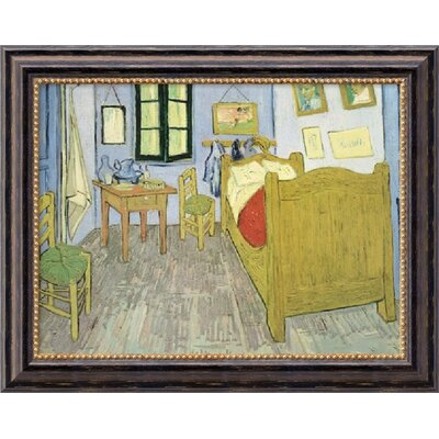 Bedroom at Arles by Vincent Van Gogh, Framed Canvas Art - 19.97