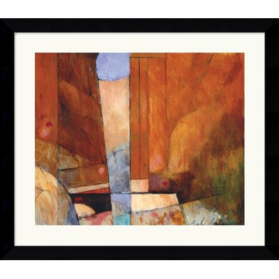 Amanti Art Canyon II Framed Art Print by Tony Saladino