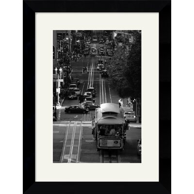 Amanti Art Streets of San Francisco Framed Art Print by Sabri Irmak