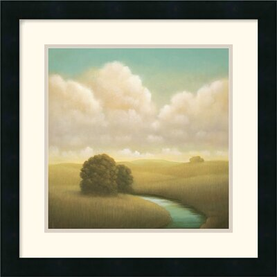 "Amanti Art Yesterday's Spring by Donna McGinnis Framed Fine Art Print - 18"" x 18"""