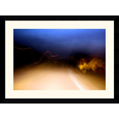 "Amanti Art Heading Home by Andy Magee Framed Fine Art Print - 28.37"" x 38.37"""
