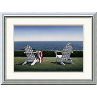 Spring House View by Daniel Pollera Framed Fine Art Print - 15.99