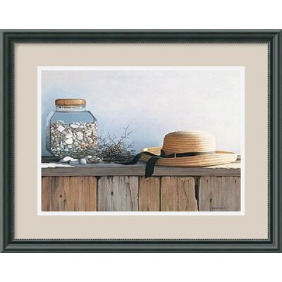 Still Life with Seashells by Daniel Pollera Framed Art Print - 15.46