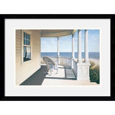 "Amanti Art Breezy Point by Daniel Pollera Framed Art Print - 15.12"" x 19.12"""