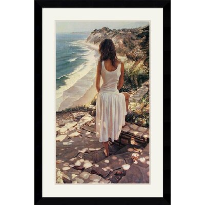 Amanti Art Coastline Framed Art Print by Steve Hanks